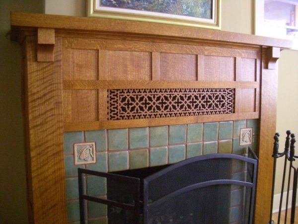 Innovative Arts And Crafts Mantel By Woodrivww Lumberjockscom Medium