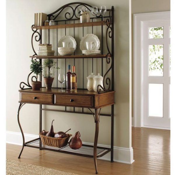 Innovative Best 25  Bakers Rack Decorating Ideas On Medium