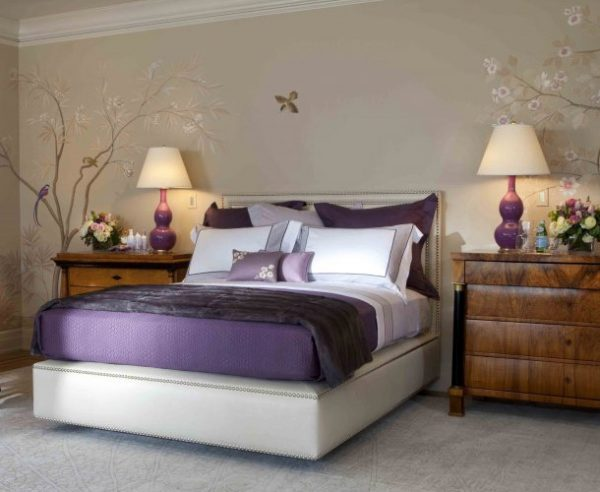 Innovative Black White And Purple Bedroom Ideas Purple Bedroom Medium
