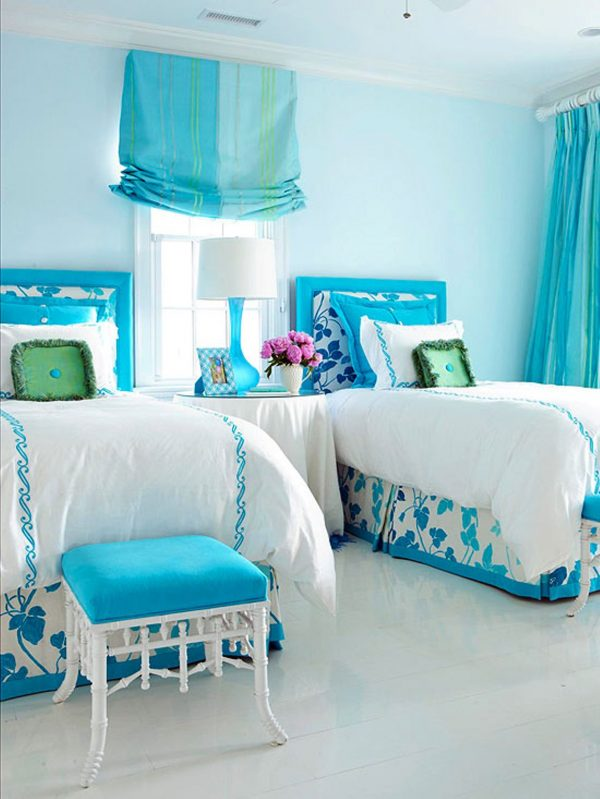 Innovative Blue Bedroom Decorating Ideas For Teenage Girls Medium