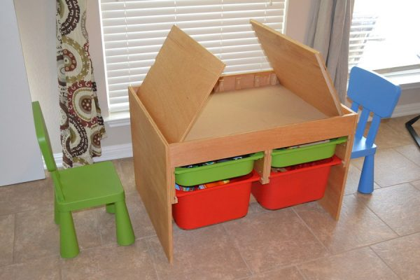 Innovative Craft Table For Kids Designs Materials And Complements Medium