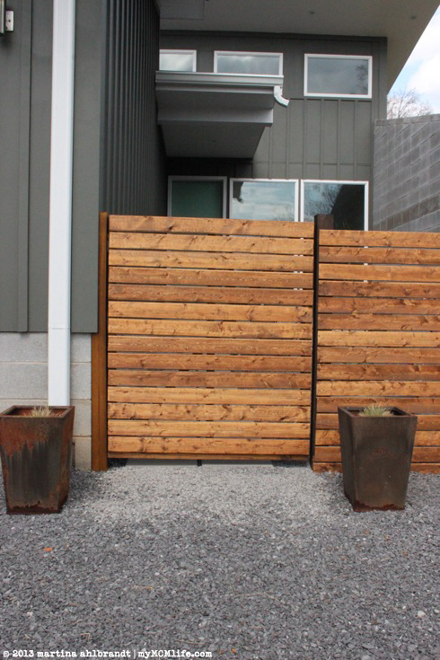 Innovative Diy Modern Wood Fence And Gate Courtyard Edition Medium