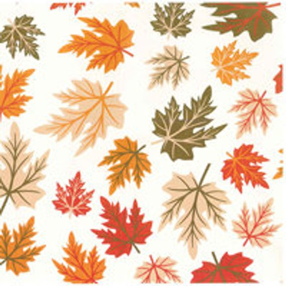 Innovative Fall   Autumn Leaves Print Tissue Paper Exclusive Medium