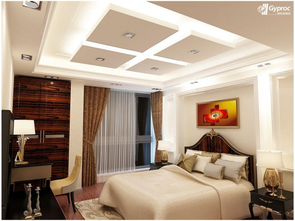 Innovative Gyproc    Falseceiling  Can Completely Change Your Bedroom Medium