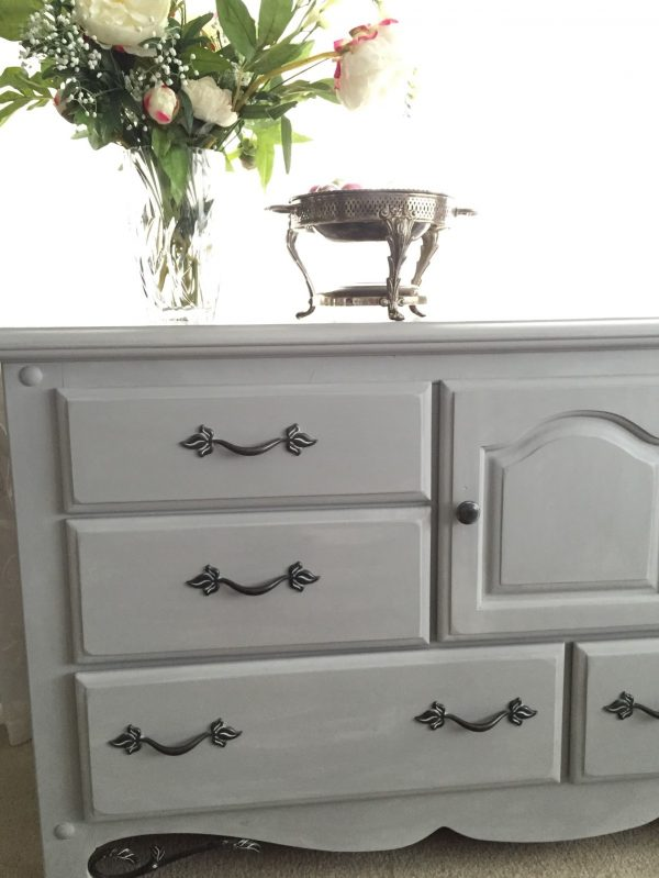 Innovative How To Chalk Paint A Dresser With Annie Sloan Paris Grey Medium