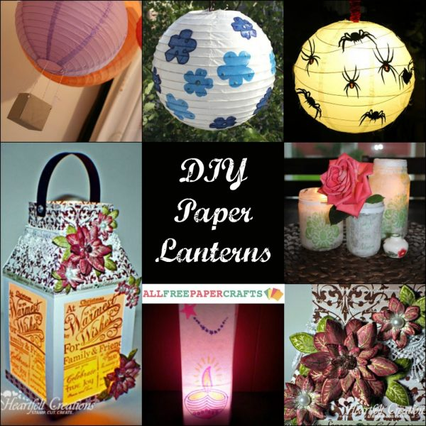 Innovative How To Make A Paper Lantern 11 Diy Paper Lanterns Medium