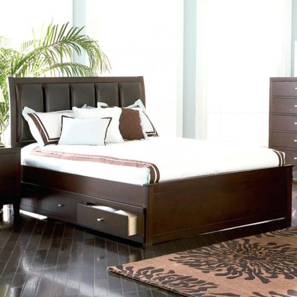 Innovative King Size Bed Vs Queen Tufted Headboard  Home Ideas Medium