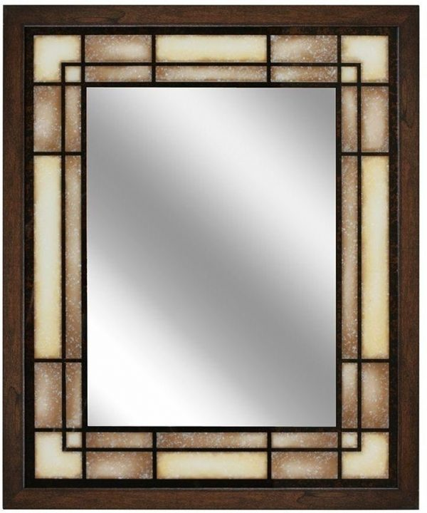 Innovative Large Framed Bathroom Vanity Wall Mirror Decorative Medium