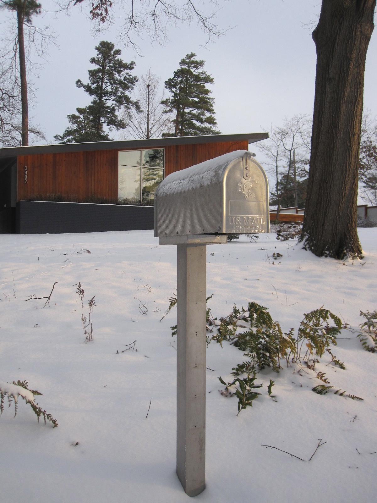 innovative midcentury modern mailbox search  midcentury modern mailbox