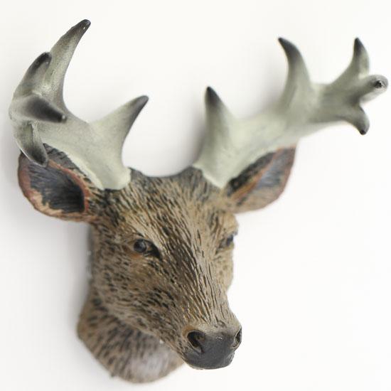 innovative miniature resin deer head whats new dollhouse