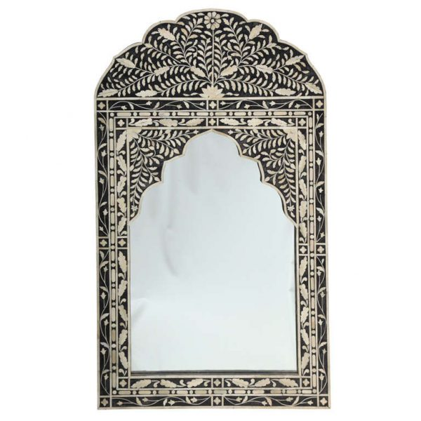 Innovative Moroccan Mirror With Bone Inlay Medium