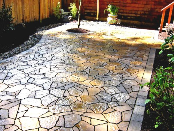 Innovative Outdoor Patio Flooring Ideas Forfy And Cozy Spot To Step Medium