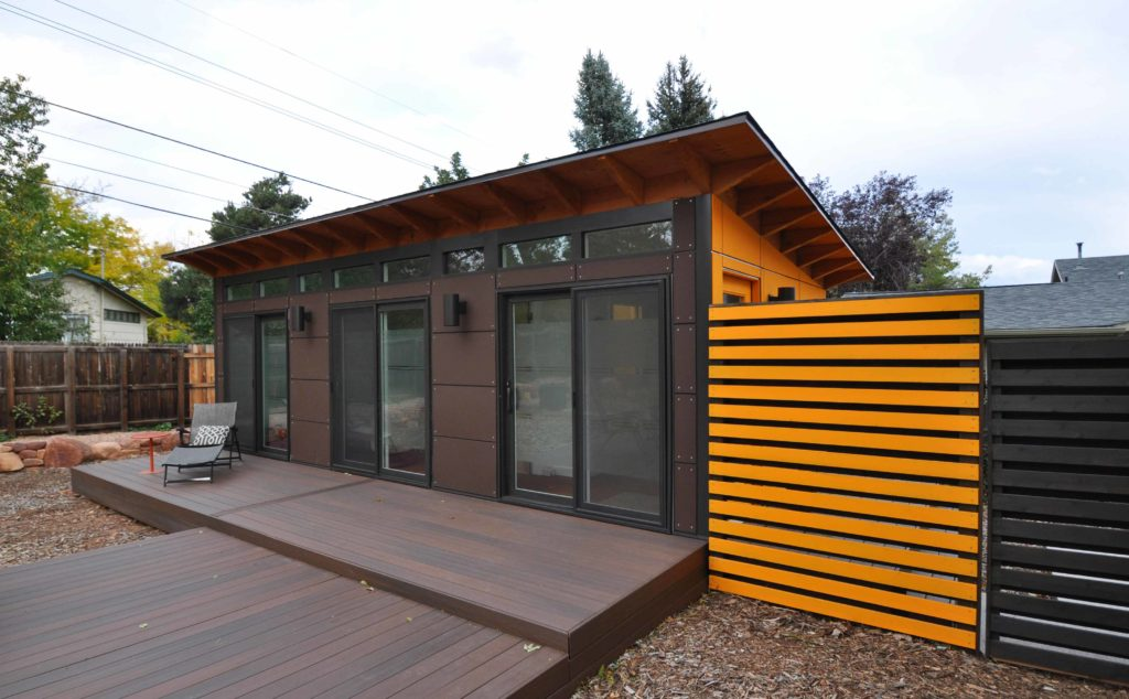 innovative prefab guest houses   modular home additionsstudio shed