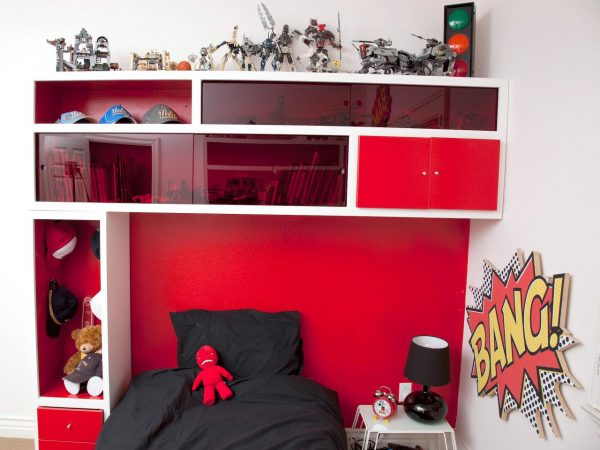 Innovative Storage Headboard For A Kids Roomhgtv Medium