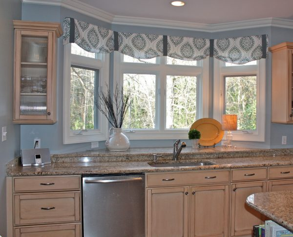 Innovative The Ideas Of Kitchen Bay Window Treatments Theydesign Medium