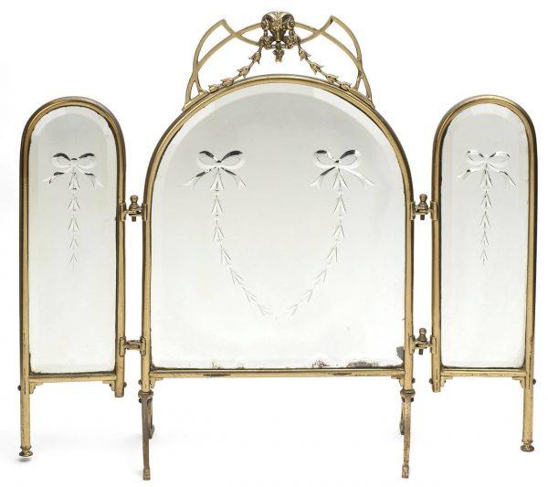 Innovative Three Way Vanity Dressing Table Mirror At 1stdibs Medium