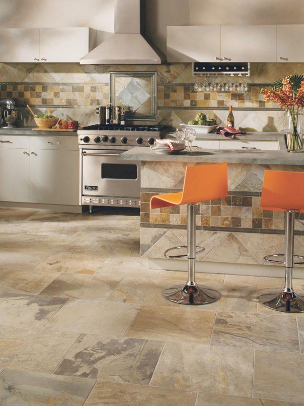 Innovative Tile Flooring In The Kitchenhgtv Medium