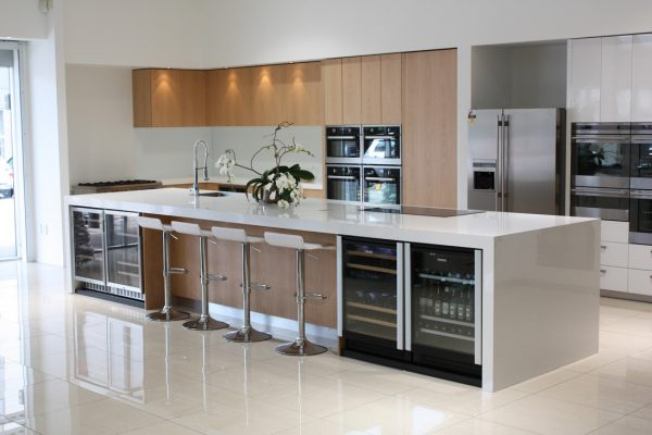 Innovative Using High Gloss Tiles For Kitchen Is Good  Interior Medium