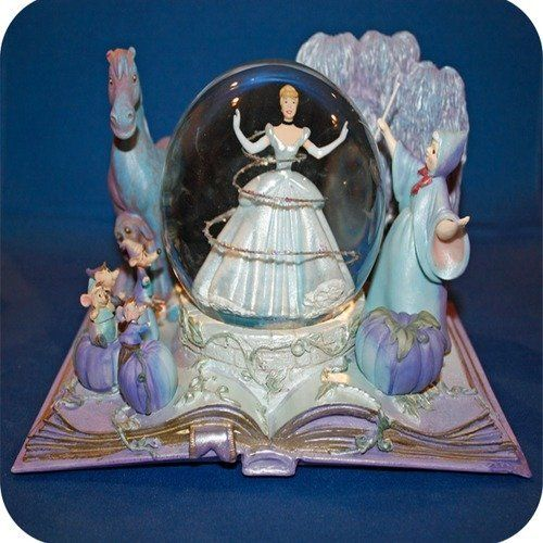 innovative water globes cinderella and globes on