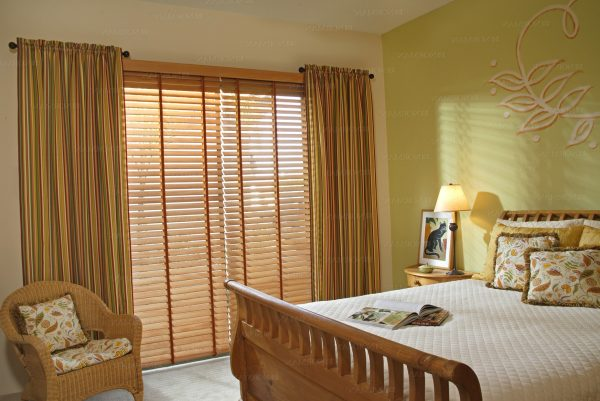 Innovative Wooden Blinds And Curtains Togetherhome Design Ideas Medium