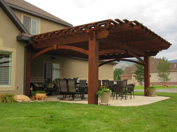 Inspiration 2 Diy Arbors Awnings Decks Pavilions Pergolas   Bridge Medium