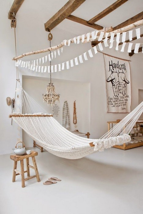 Inspiration 23 Interior Designs With Indoor Hammocks Messagenote Medium