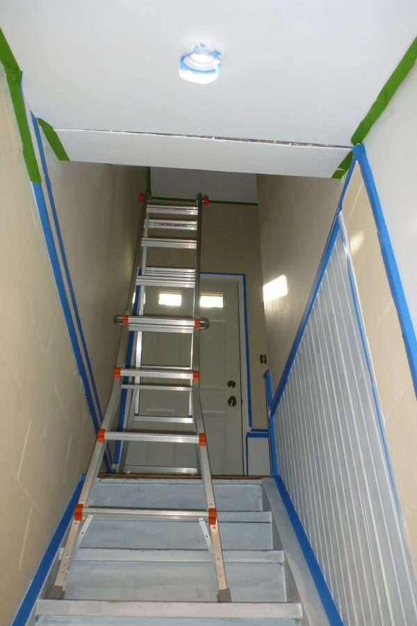 Inspiration 48 Ladder For Stairs Painting Multi Purpose Stair Ladder Medium