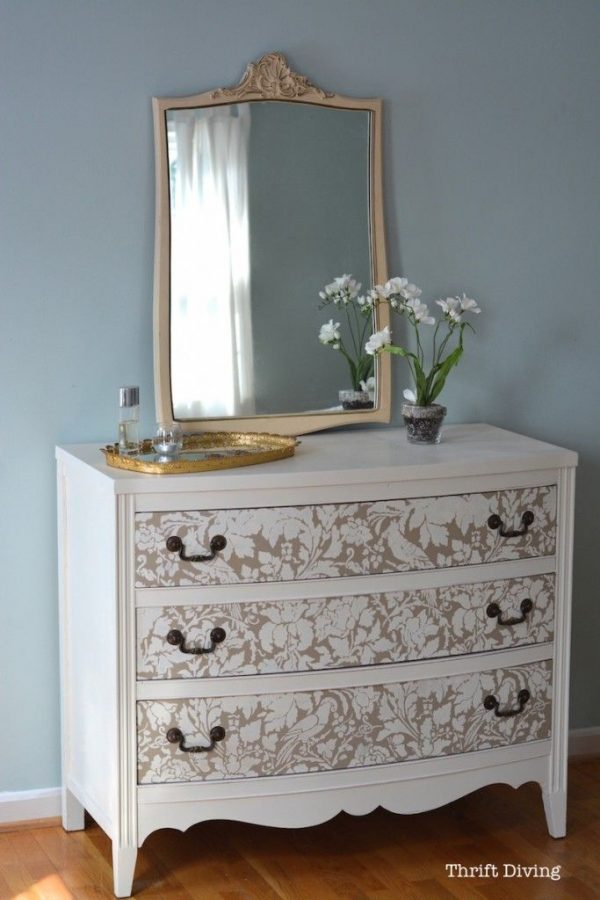 Inspiration 490 Best Stenciled And Painted Furniture Images On Medium
