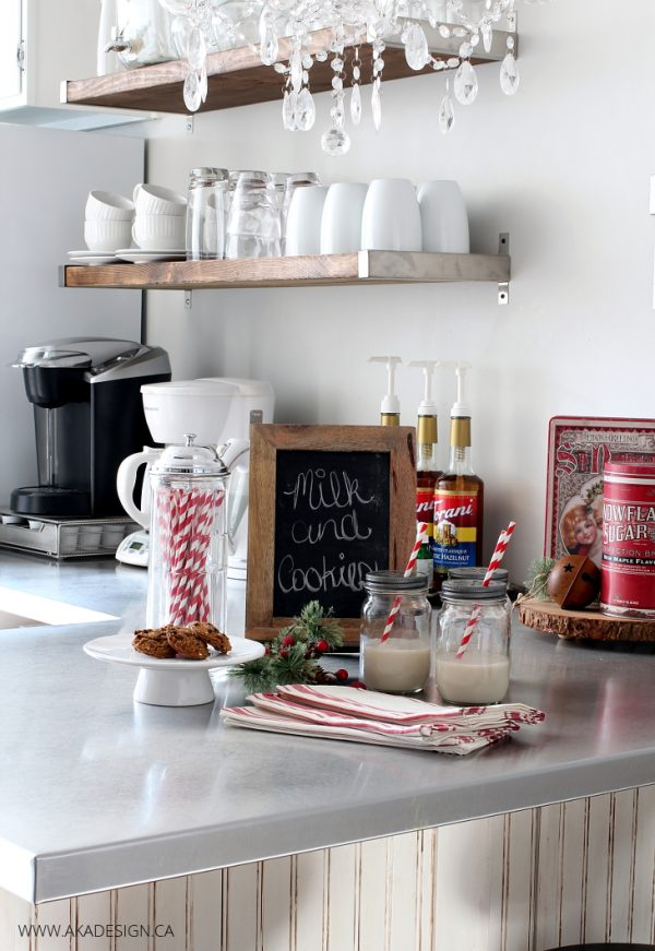 Inspiration A Vintage Style Red And White Christmas Kitchen   Free Medium