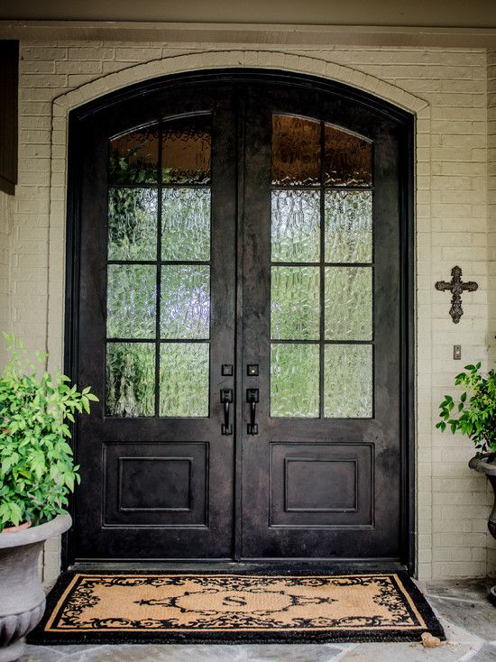 inspiration amusing double front doors for homes traditional exterior