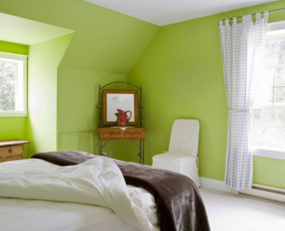 Inspiration Bedroom Painting Ideas Green Yellowcolor Blocking Medium