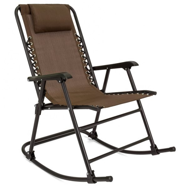 Inspiration Best Choice Products Folding Rocking Chair Foldable Rocker Medium