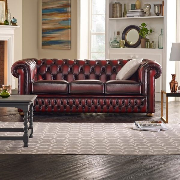Inspiration Buy A 3 Seater Chesterfield Sofa At Sofas By Saxon Medium