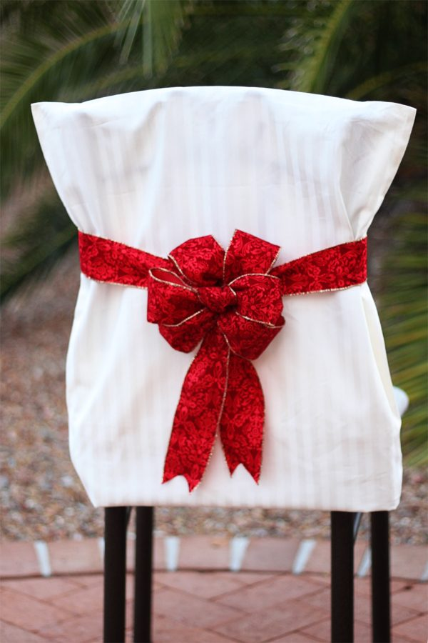 Inspiration Christmas Chair Cover Tutorials The Bright Ideas Blog Medium