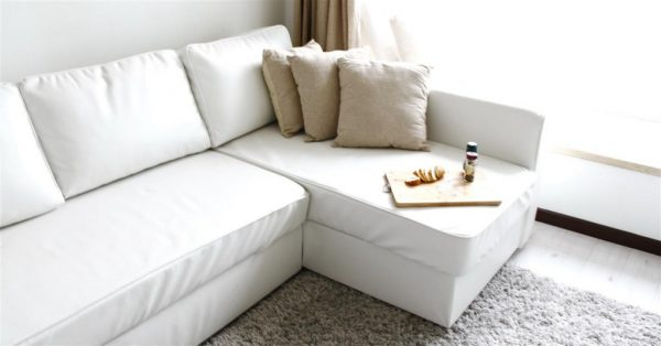 Inspiration Comfort Works Manstad Sofabed Leather Slipcover Available Medium