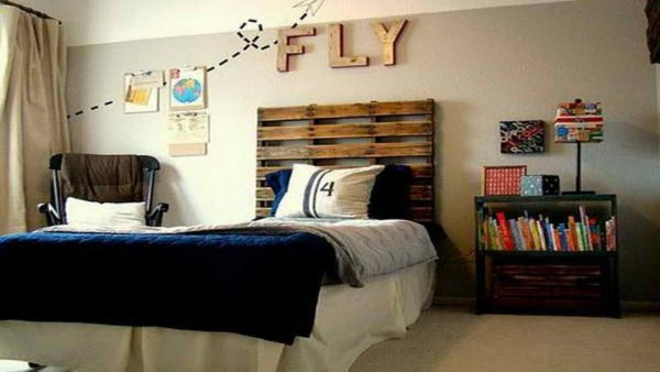 Inspiration Cool Bedroom Designs For Guys Diy Headboard Ideas For Medium