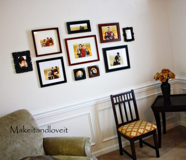 Inspiration Decorating Ideas Amusing Images Of Picture Collage Wall Medium