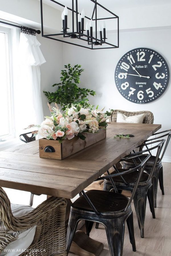 Inspiration Dining Room Table Centerpieces With Simple Ideas Medium