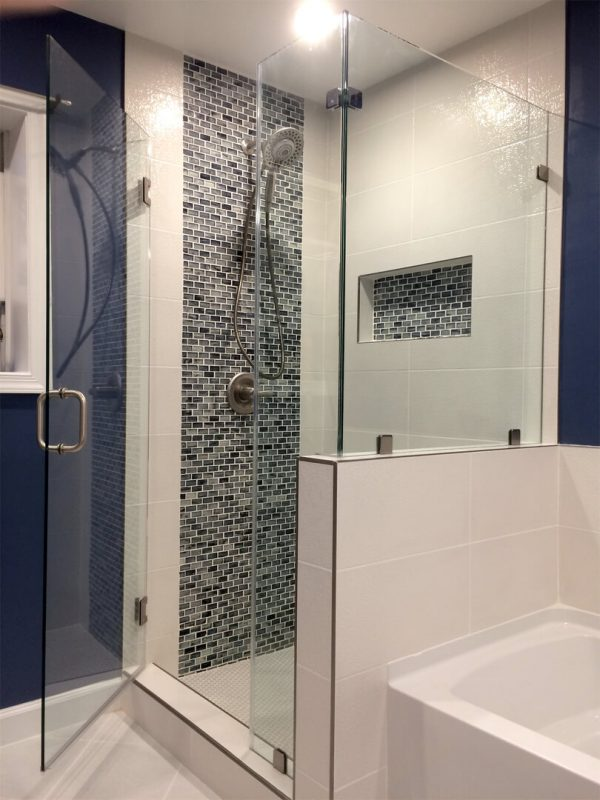 Inspiration Frameless Corner Shower Enclosures Medium