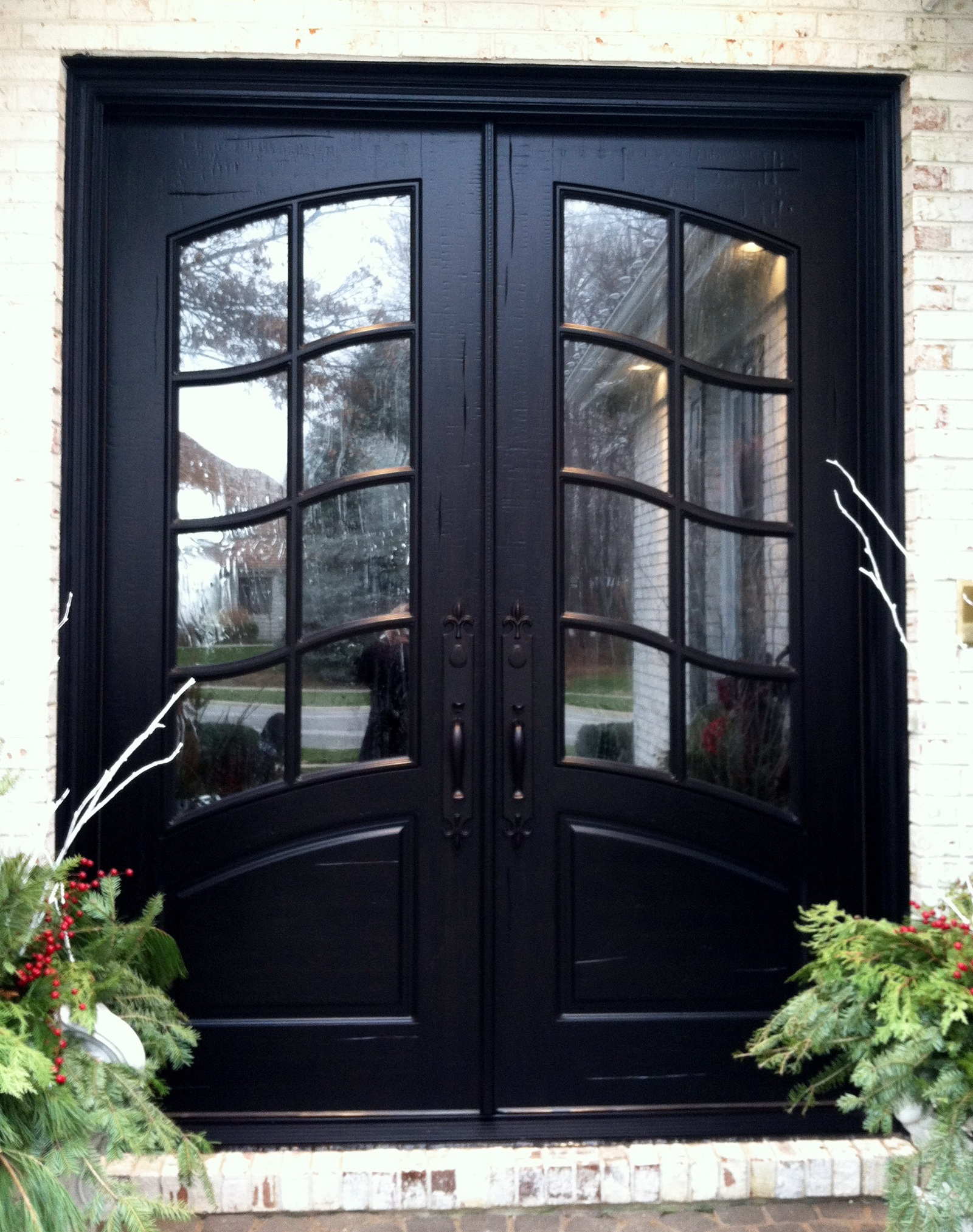 inspiration french country double entry doors give charming