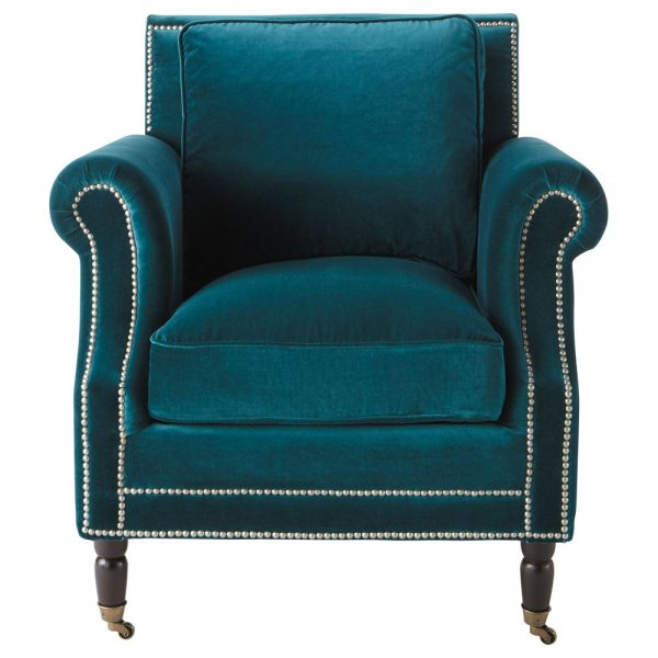 Inspiration Furniture Captivating Images Of Peacock Blue Chair For Medium