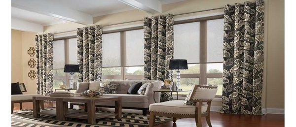 Inspiration How To Mix And Match Blinds And Curtains Together Medium