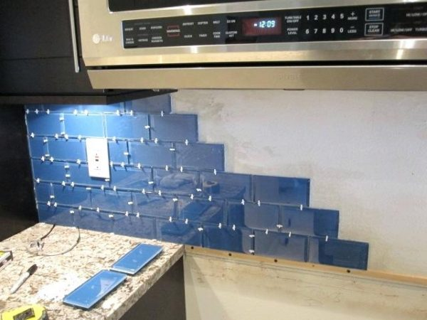 Inspiration Install Tile Backsplash 1 8 Spacers On Subway Tile Glass Medium