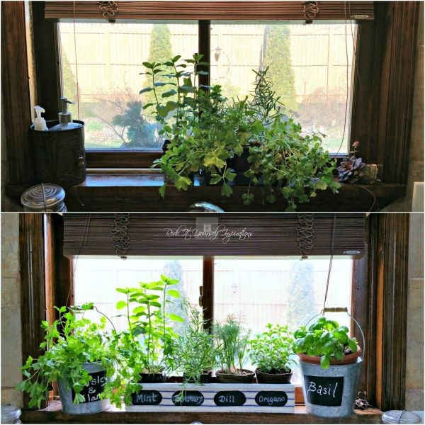 Inspiration Kitchen Window Herb Gardenredo It Yourself Inspirations Medium