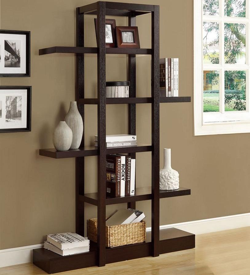 inspiration living room etagere in free standing shelves