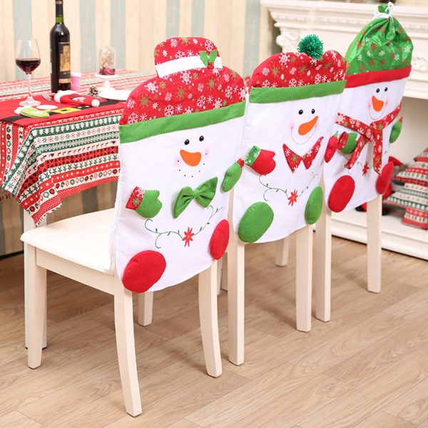 Inspiration Must Have Christmas Chair Back Covers Unique Christmas Medium