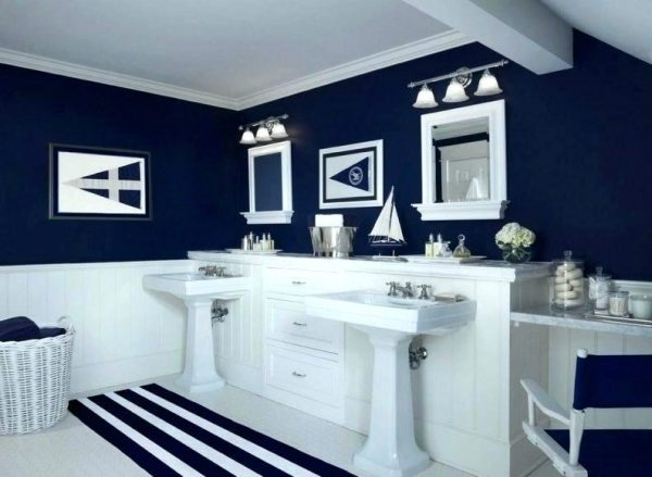 Inspiration Navy Blue Bathroom Set Red And Blue Bathroom Accessories Medium
