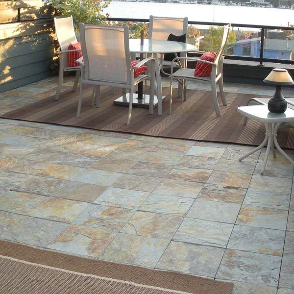 inspiration outdoor slate floor tiles contemporary patio chicago