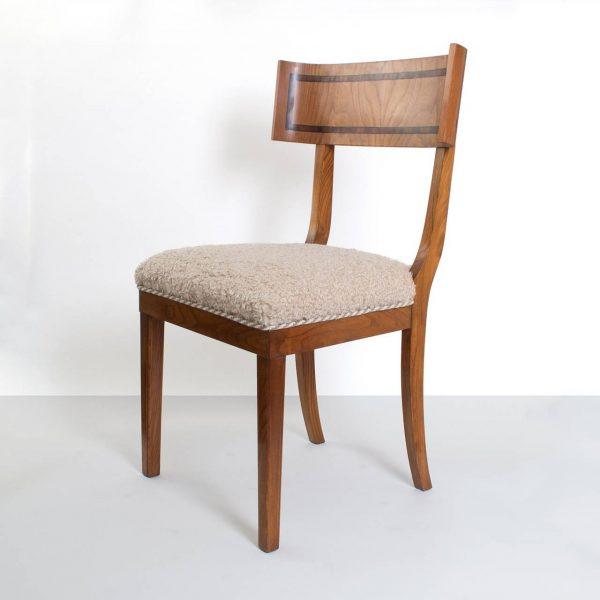 Inspiration Scandinavian Modern Klismos Dining Chairs In Elm Set Of Medium