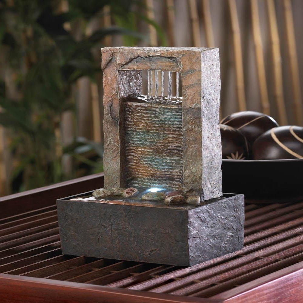inspiration tabletop water fountains with lightsfountain design ideas
